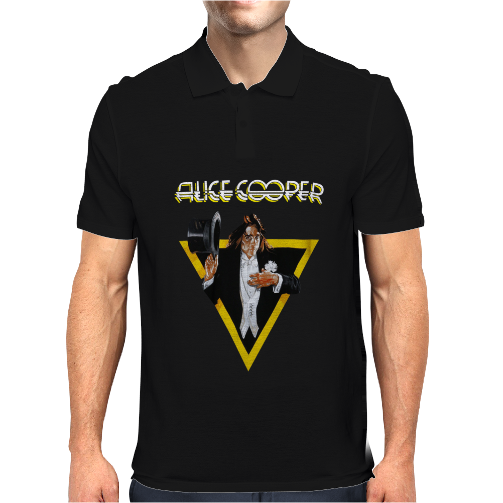 Alice Cooper Welcome To My Nightmare Mens Polo