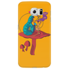 ALICE IN WONDERLAND - ASK ALICE - THE SMOKING CATERPILLAR - PSYCHEDELIC CATERPILLAR Phone Case