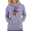 ALICE IN WONDERLAND - ASK ALICE - THE SMOKING CATERPILLAR - PSYCHEDELIC CATERPILLAR Womens Hoodie