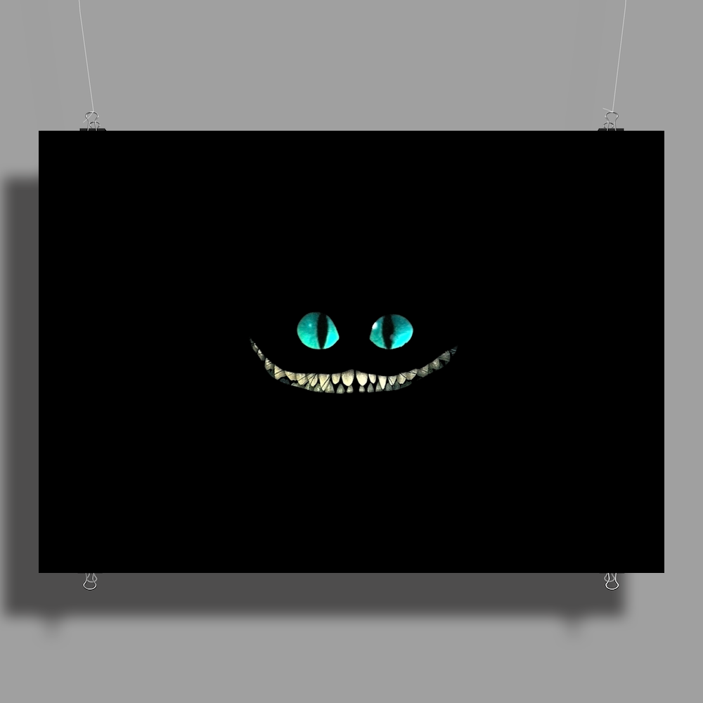 alice in wonderland Cheshire Cat Poster Print (Landscape)
