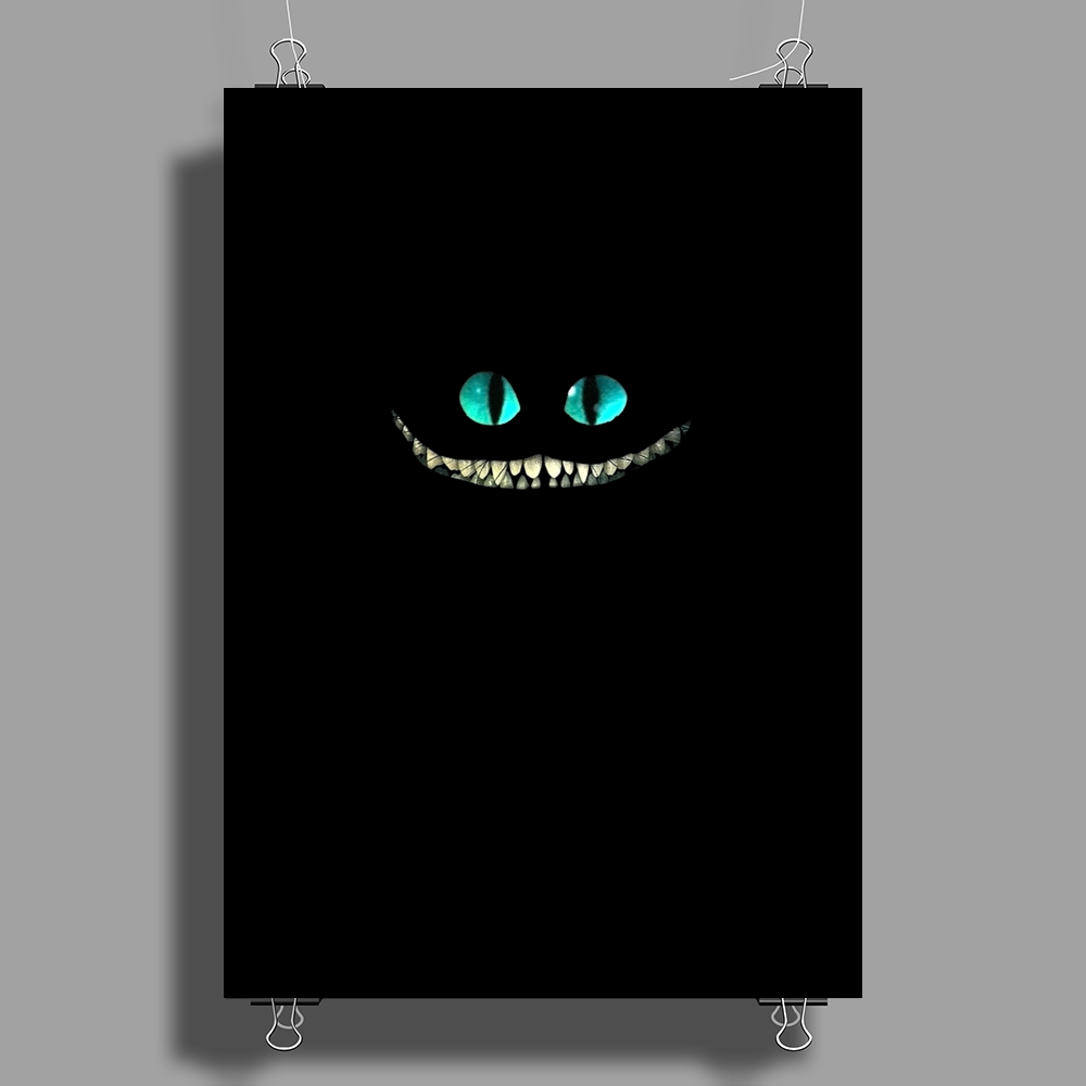 alice in wonderland Cheshire Cat Poster Print (Portrait)