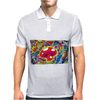 ALICE IN WONDERLAND - MUSHROOM POWER - ASK ALICE - PSYCHEDELIC MUSHROOM Mens Polo