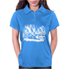 Alice in Wonderland Tea Party Womens Polo