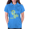 Alien Believe Space Sci Fi UFO Nerd Womens Polo