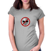 Alien Buster Sign Womens Fitted T-Shirt