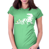 Alien Evolution - Mens Funny Womens Fitted T-Shirt
