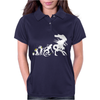 Alien Evolution - Mens Funny Womens Polo