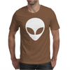Alien Head Mens T-Shirt