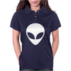 Alien Head Womens Polo