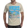 Alien Invasion Mens T-Shirt
