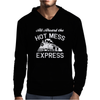 All Aboard Hot Mess Express Train Mens Hoodie