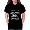 All Aboard Hot Mess Express Train Womens Polo