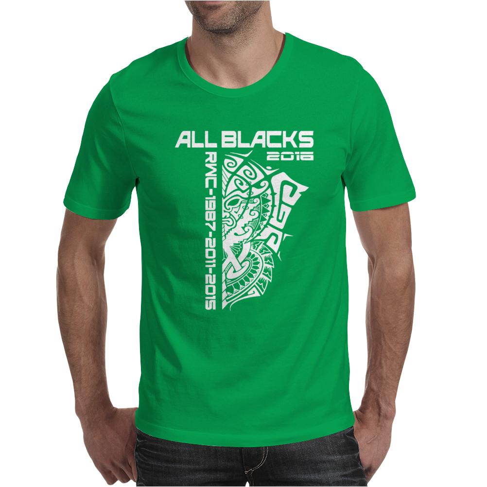 All Blacks Nz Rugby World Championship 2016 Mens T-Shirt