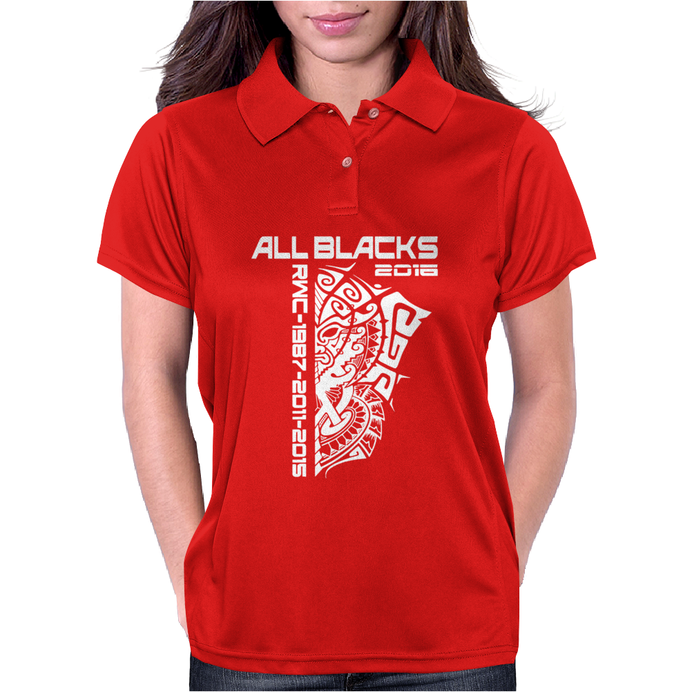 All Blacks Nz Rugby World Championship 2016 Womens Polo