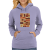 All character Harry potter Womens Hoodie