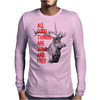 All good things are wild and free Mens Long Sleeve T-Shirt