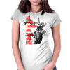 All good things are wild and free Womens Fitted T-Shirt