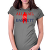 All hail King Barrett Womens Fitted T-Shirt