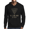 ALL I CARE ABOUT IS PIZZA Mens Hoodie