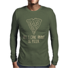 ALL I CARE ABOUT IS PIZZA Mens Long Sleeve T-Shirt