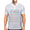 All I Want for Christmas is Weed Mens Polo