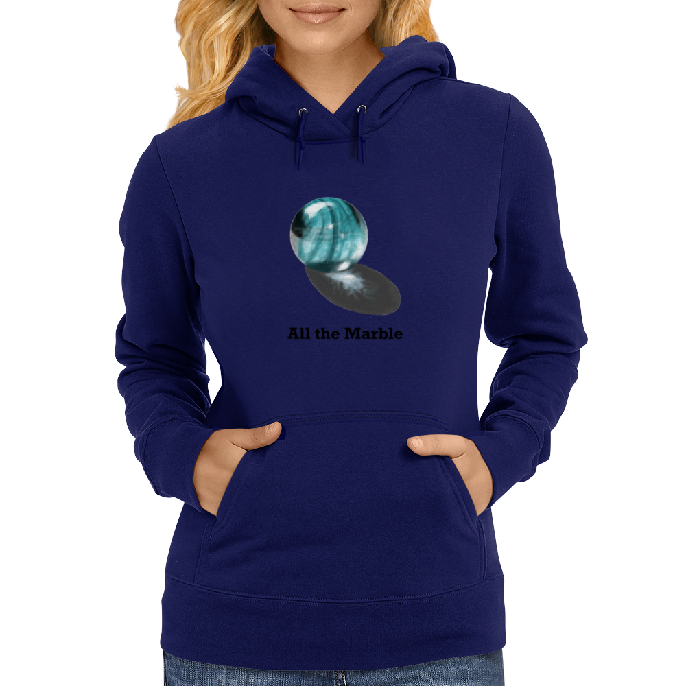 All the Marble Womens Hoodie