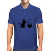 All Too Easy Funny Humor Geek Mens Polo