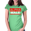 Alpha Male Manly Man Leader Elite Womens Fitted T-Shirt