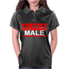 Alpha Male Manly Man Leader Elite Womens Polo