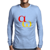 alpha omega beginning end Mens Long Sleeve T-Shirt