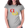alpha omega beginning end Womens Fitted T-Shirt