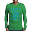 Alphabet ABC Elemno Mens Long Sleeve T-Shirt