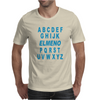 Alphabet ABC Elemno Mens T-Shirt