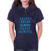 Alphabet ABC Elemno Womens Polo