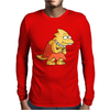 Alphys Simpson (Parody) Mens Long Sleeve T-Shirt