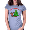 ALTERNATIVE CHRISTMAS Womens Fitted T-Shirt