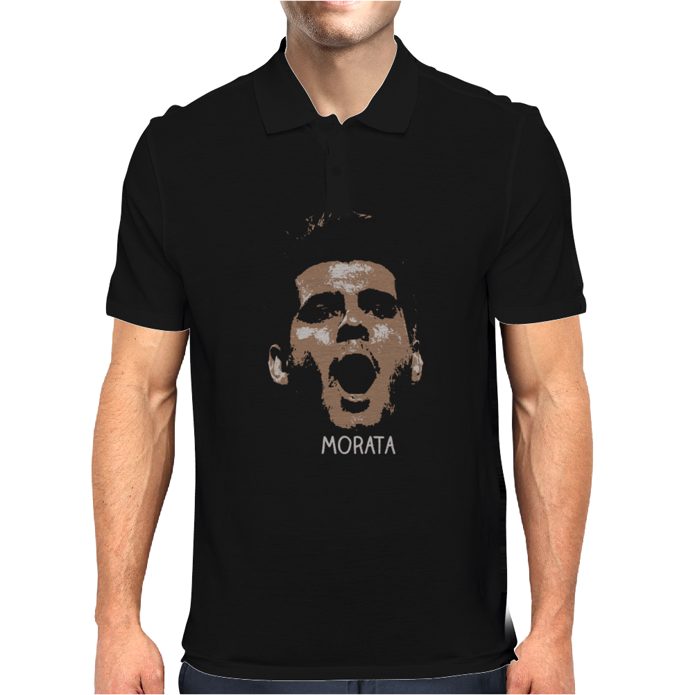 Alvaro Morata Juventus Spain Mens Polo