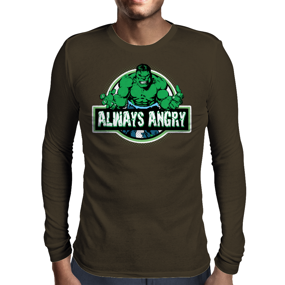 Always Angry Mens Long Sleeve T-Shirt