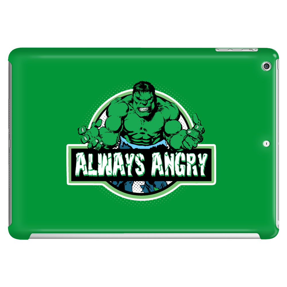 Always Angry Tablet (horizontal)