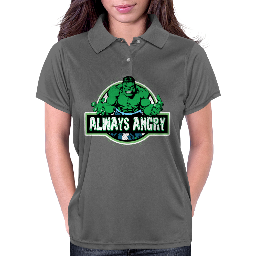 Always Angry Womens Polo