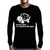 Always Late Worth Wait Funny Turtle Tee Mens Long Sleeve T-Shirt