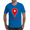 Am Here Internet Google Maps Mens T-Shirt