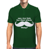 Am I Too Late for that Mustache Thing Mens Polo