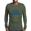 Amateur Driver on an Open Course racing logo. Mens Long Sleeve T-Shirt