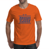 Amateur Driver on an Open Course racing logo. Mens T-Shirt