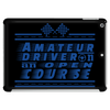 Amateur Driver on an Open Course racing logo. Tablet (horizontal)