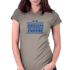 Amateur Driver on an Open Course racing logo. Womens Fitted T-Shirt