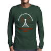 Amateur Ham Radio Callsign Antenna Mens Long Sleeve T-Shirt
