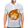 amber whale Mens Polo