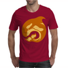 amber whale Mens T-Shirt